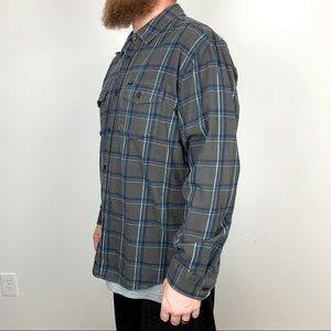 Hurley Shirts - Hurley Button Down Flannel Short Size XL